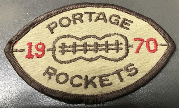 1970 Portage Rockets patch